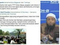 Curhat Soal Kasus Ust Khalid Guru Sejarah Dilaporkan ke Polisi karena Menghina Ansor Tapi Didamaikan