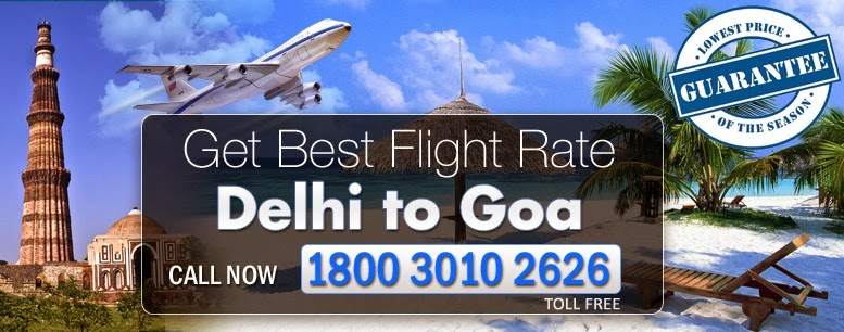 New Delhi To Goa Flights