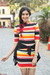 Adha Sharma in a Cute Colorful Jumpsuit Styled By Manasi Aggarwal Promoting movie Commando 2 (65).JPG