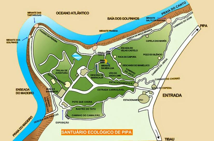 Santuário Ecológico de Pipa - RN