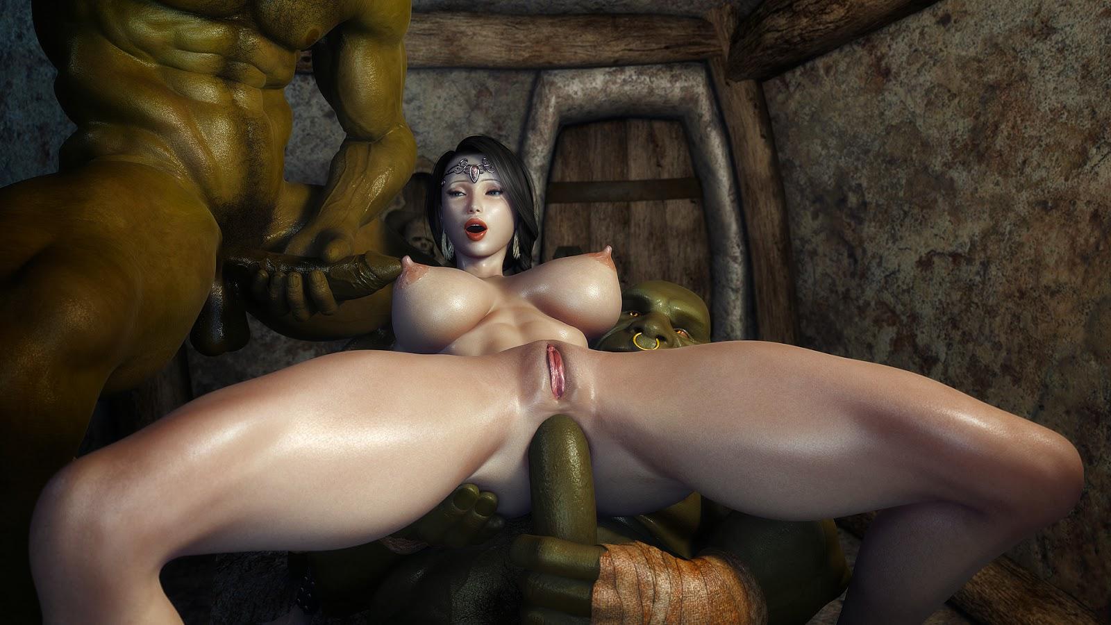 Orcs 3d porn pictures adult photo