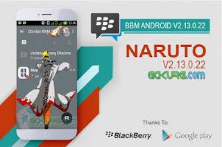 BBM MOD Naruto V2.13.0.22 Apk download gratis