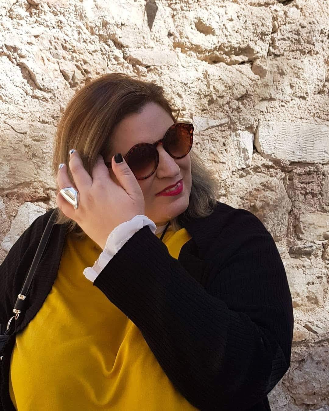6cf2788915 Plus size fashion  Ανοιξιάτικο look - Πάμε μια βόλτα στην Αθήνα ...