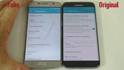 benar meresahkan seluruh lapisan masyarakat Nih 13 Perbedaan Samsung Galaxy S7 Edge Asli dan Replika