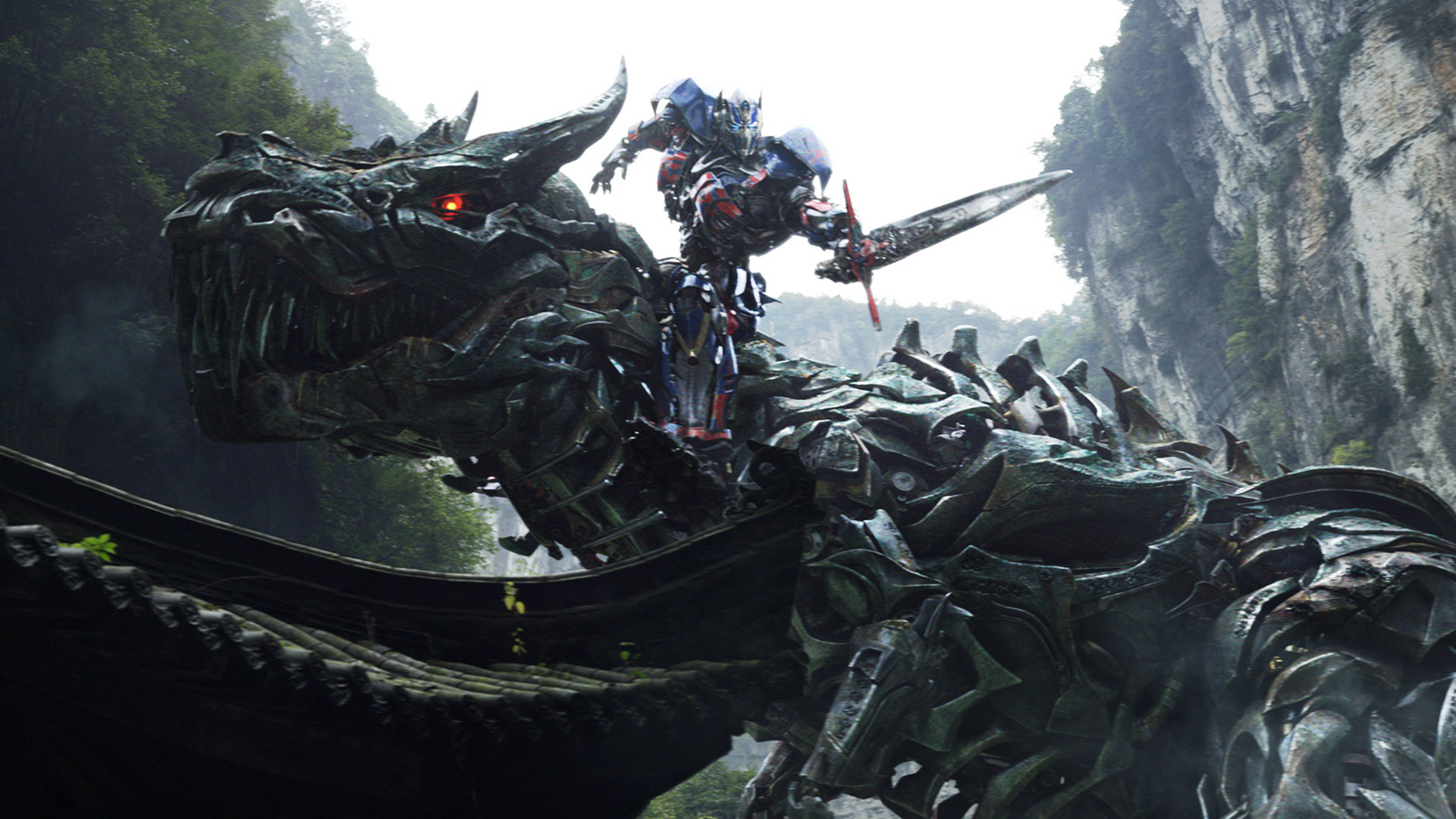 Grimlock and Optimus Prime 5p Wallpaper HD