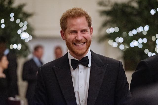 Książę Harry na przyjęciu związanym z England Rugby