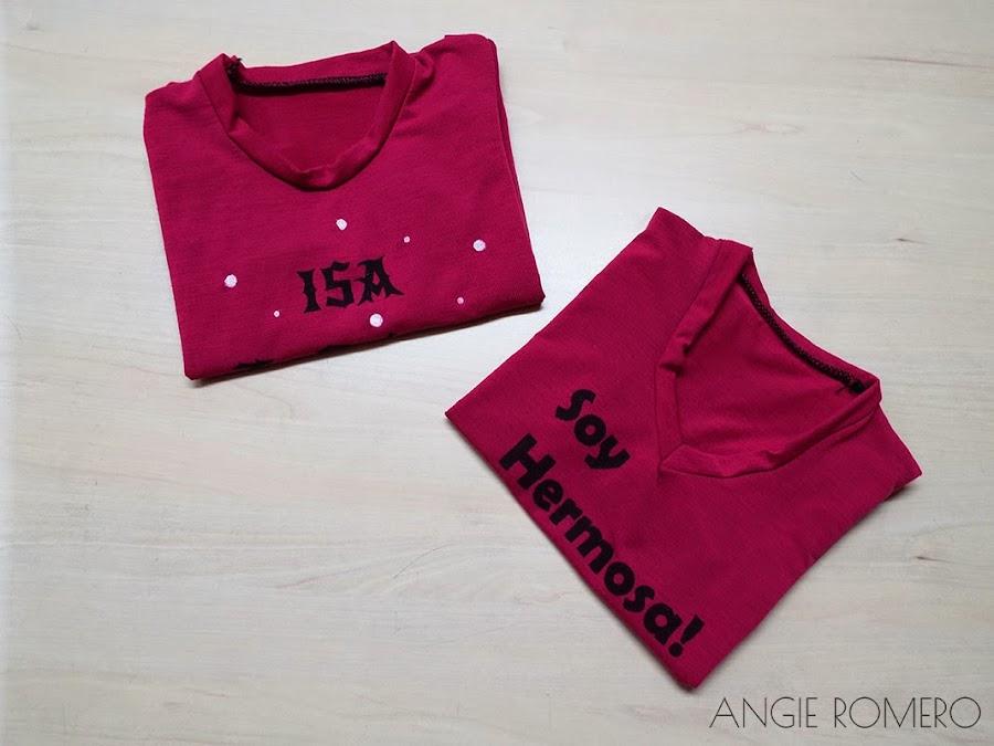 Como hacer camiseta