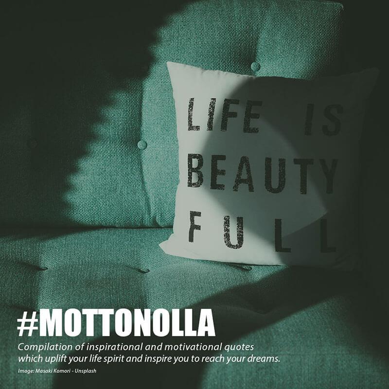 Motto Nolla - 15 Kalimat Motivasi yang Menginspirasi