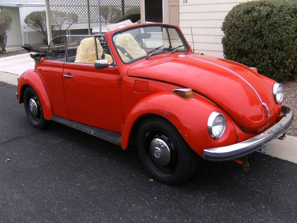 1972 Super Beetle Convertible