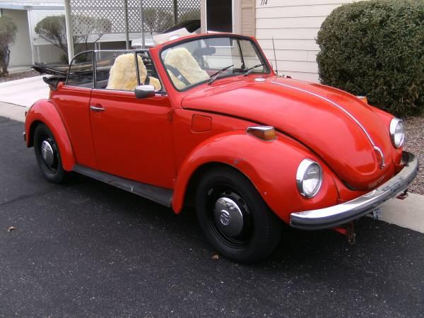 1972 Super Beetle Convertible