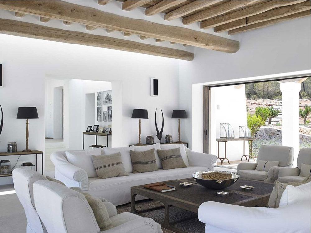 Ibiza villa di lusso con piscina a sfioro blog di for Home arredamento