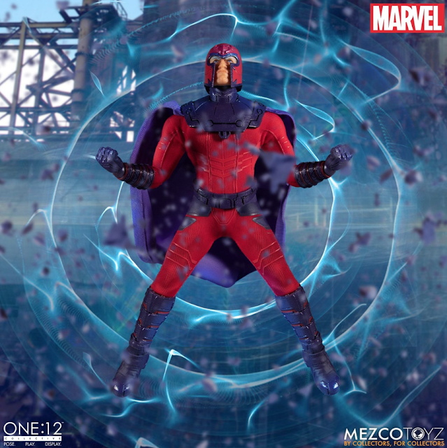 c60be67c Mezco Makes a One:12 Marvel Comics MAGNETO with Real Magnetic Action!