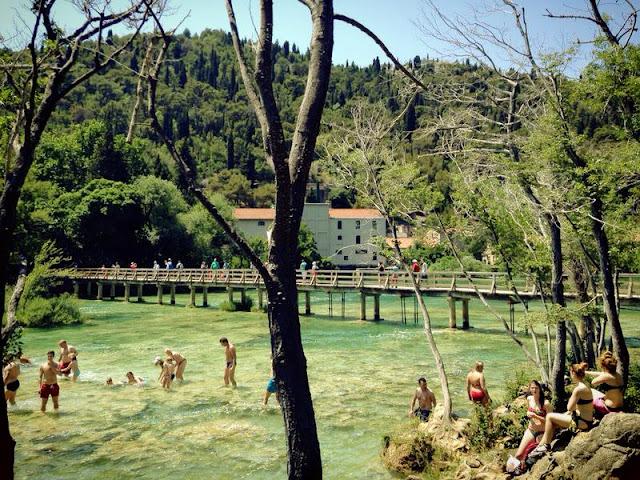 Krka scenery