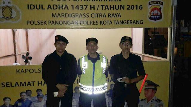 Pengamanan hari Raya Idul Adha 1437 H
