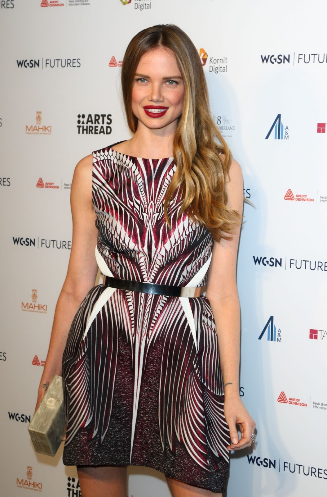 Alicia Rountree at WGSN Futures Awards 2016 in London