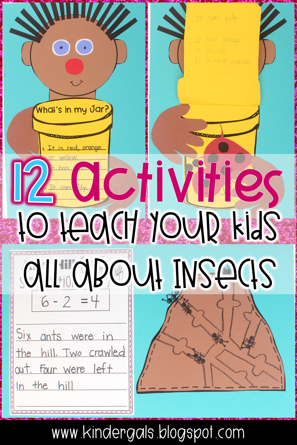 KinderGals: Insects and Other Bugs Activities
