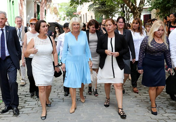 Prince Charles and his wife Camilla, the Duchess of Cornwall, toured Old Havana