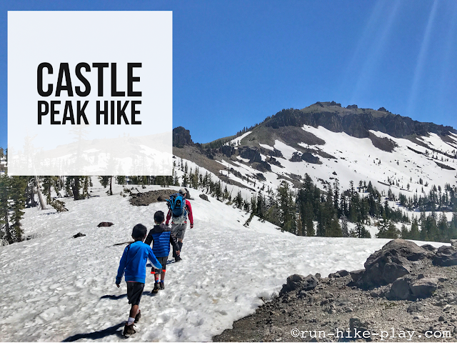 Castle Peak Hike, North Lake Tahoe