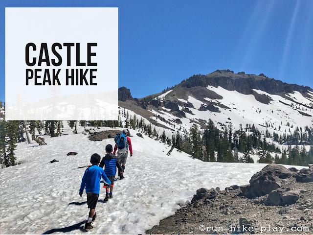 Castle Peak Hike, North Lake Tahoe