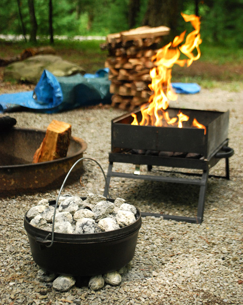 campfire kitchen, Nibble Me This, campfire cuisine