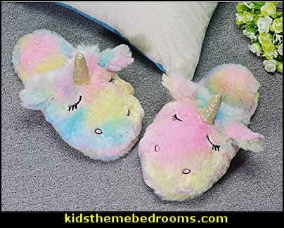 Unicorn   Slippers   unicorn decor - unicorn bedroom ideas -