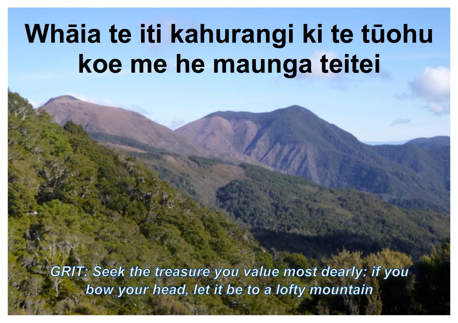 Mātauranga Māori @ Birchwood School: Whakataukī