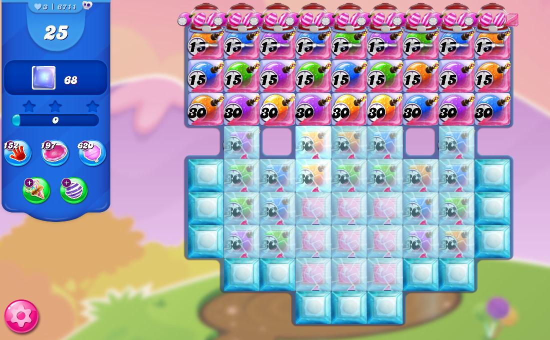 Candy Crush Saga level 6711