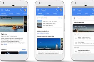 """Fitur Baru Google, Bisa """"Booking"""" Hotel dan Tiket Pesawat"""