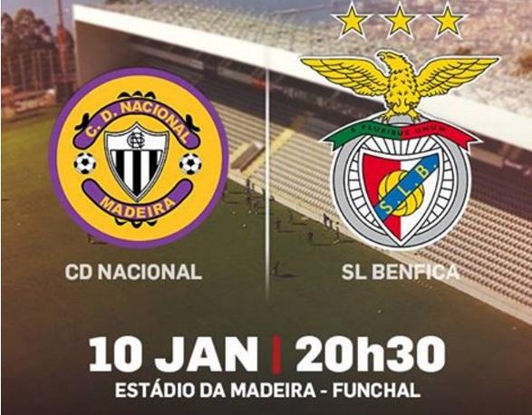 Benfica Vs Nacional: O Belo Voar Da Águia: Nacional Vs Benfica ( Liga NOS
