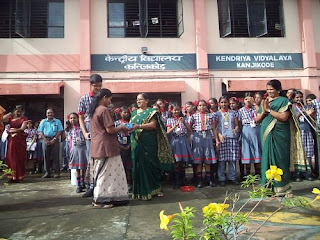 स्वच्छ भारत अभियान Swachh Bharat Abhiyan - Security and Cleaning Staff Appreciated in the Morning Assembly