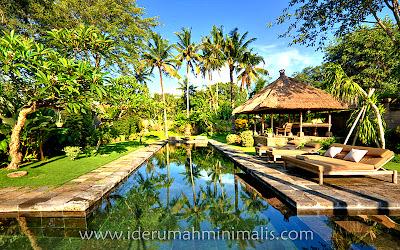 rumah minimalis dengan kolam renang ~ rumah minimalis modern