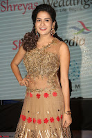 Jenny in brown transparent sleeveless anarkali dress at Shamanthakamani pre release function ~  Exclusive 021.JPG