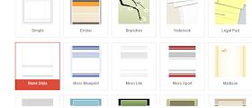 pilihan template site