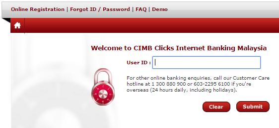 www.cimbclicks.com.my Login Malaysia