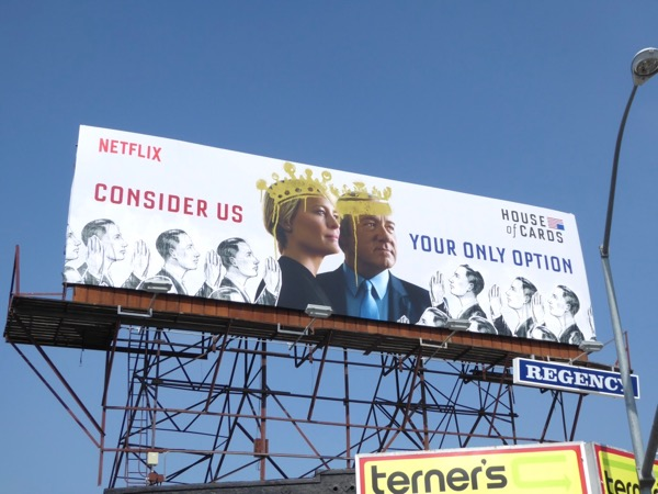 House of Cards season 5 Emmy FYC billboard