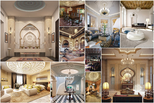 Beautiful Ceiling Designs In An Eastern Style
