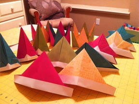 Origami Hats - Page 1 of 2 | Gilad's Origami Page | 215x288
