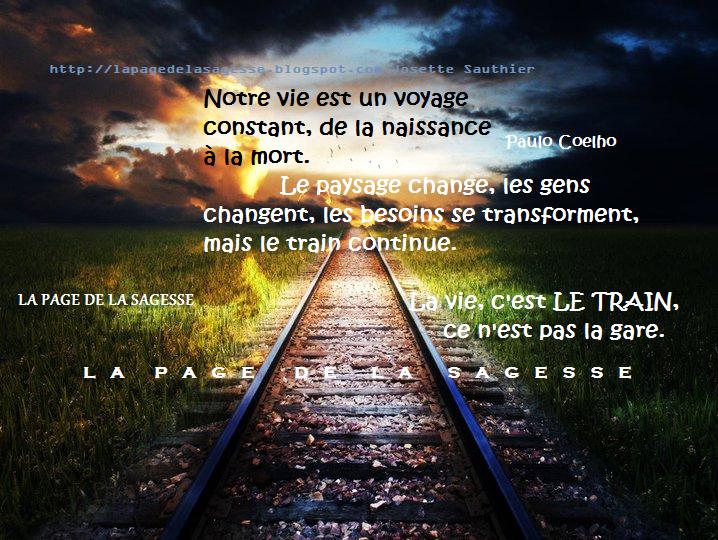 Image De Citation Citation La Vie Train