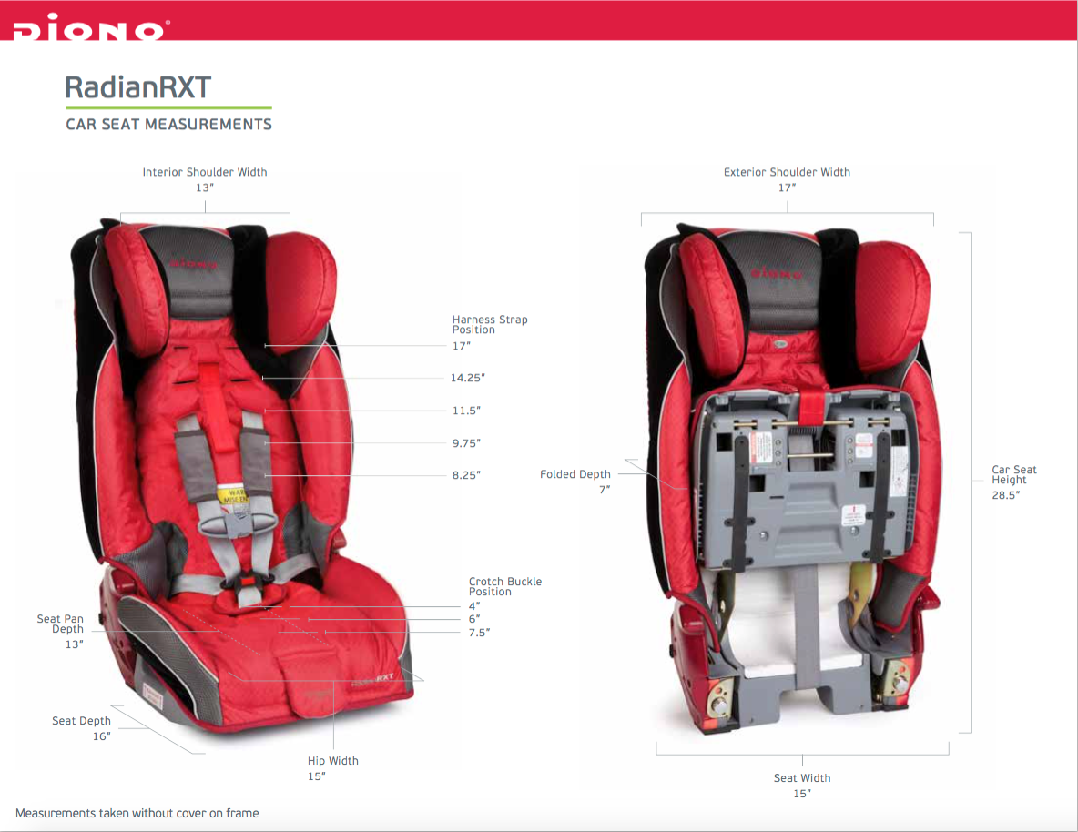 Diono car seats are beyond impressive it s no wonder that they have won numerous awards such as the most innovate product award best junior car seat