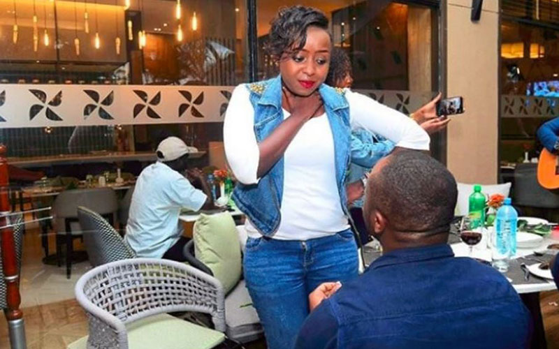 Jacque Maribe's boyfriend was arrested for suspected involvement in the murder of one Monica Nyawira Kimani at her apartment in Kilimani, Nairobi. The 28-year old Monica was found dead by her brother with her throat slit open in a murder grotesque and mysterious unlike any Kenyans have seen.