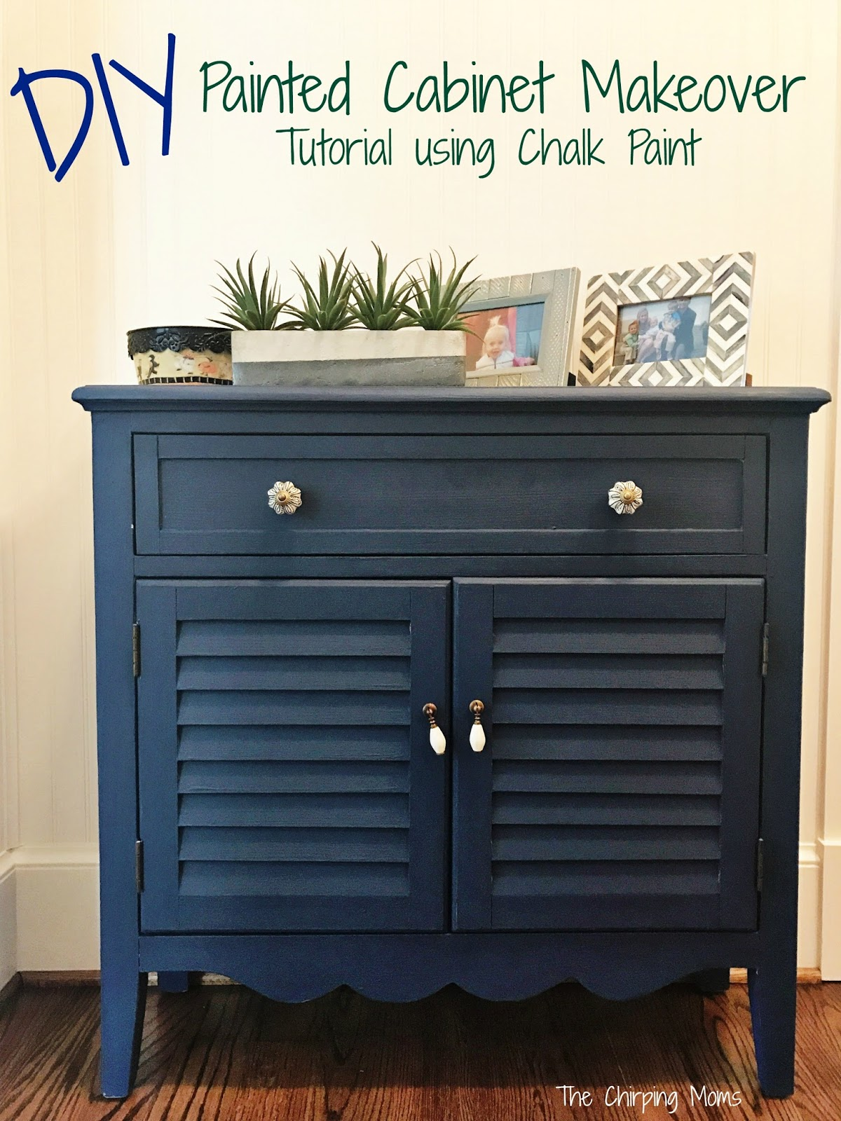 chalk paint furniture diyDIY Painted Furniture Makeover using Chalk Paint  The Chirping Moms