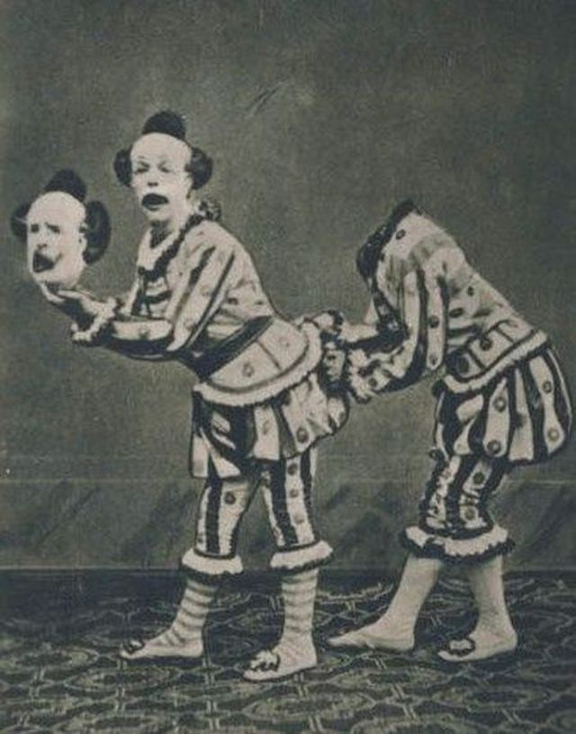 creepy vintage 34 photos of clowns you might not