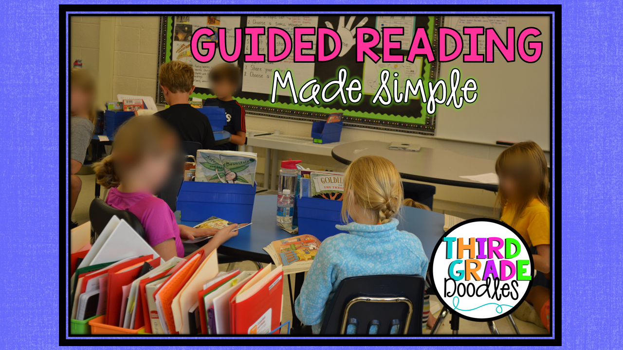 Guided Reading Made Simple - Third Grade Doodles