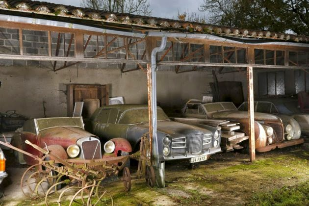 The Specialists At Artcurial Regularly Traverse France Finding Cars For Sales This Was Definitely Find Of A Lifetime Sixty Collector In One Place