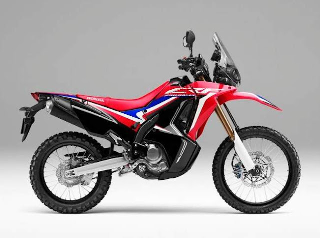 Honda CRF250Rally Extreme Red 2019