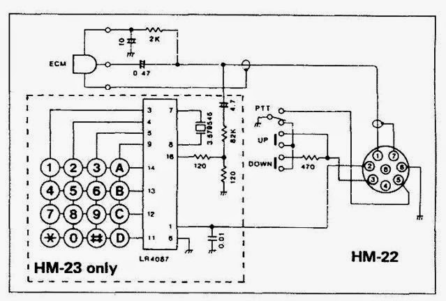 i ic 7000 microphone wiring diagram
