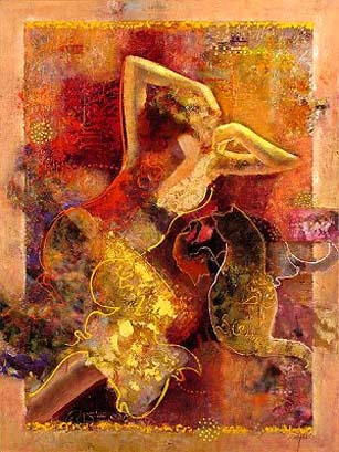 Mahmood Sabzi | Iranian Abstract Impressionist painter
