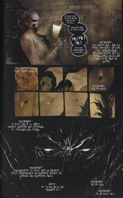 page de HellSpawn de Bendis, Niles, Wood, Templesmith et Sienkienwicz chez Delcourt