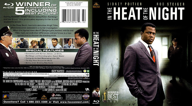 In The Heat Of The Night Bluray Cover