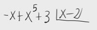43.División de polinomios por la regla de Ruffini